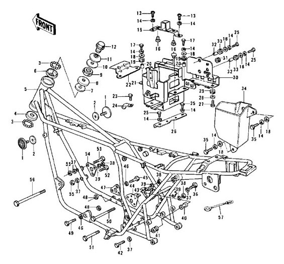 kawasaki kz900 wiring diagram   29 wiring diagram images