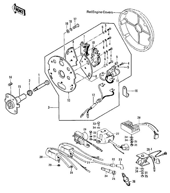 1976 Kz900 Coil Wiring Diagram